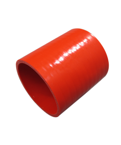 """Cxracing 2.25"""" Straight Red Silicon Hose Coupler for Turbo Intercooler Pipe 3"""" Long"""