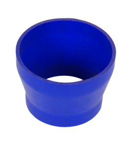 "Cxracing Universal 5"" to 4"" Blue Silicon Hose Reducer Straight 85mm Long"