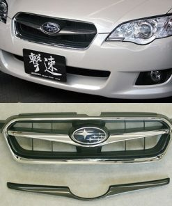 2008-2009 Legacy Sedan Wagon BL/BP Grill Finisher