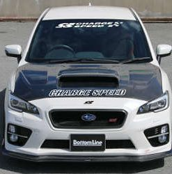 15-17 WRX STi 4D BottomLine FRP T2 Full Lip Kit
