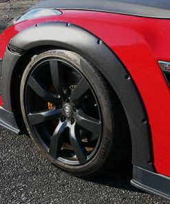 2007-2011 Nissan GTR Glos Carbon Front Over Fender