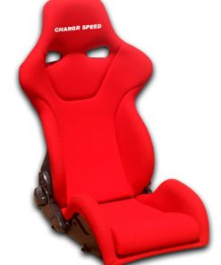 Reclined Racing Seat Genoa R FRP Red