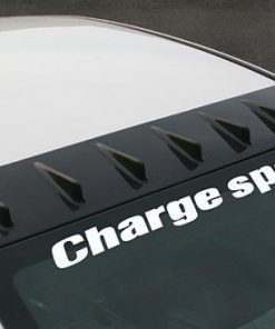 Charge Speed 06-10 Civic Sedan Carbon Roof Fin