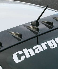 Charge Speed GV-B Sedan Carbon Rear Roof Fin