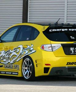 Charge Speed Full Side Body KANAGAWA Graphics