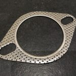 "2.5"" (64mm) 2 Bolt High Performance Exhaust Gasket, Universal Fitment, Fire Ring"