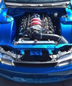 Nissan 200SX S14 S14A SIKKY V8 LS 1 2 3 Engine Swap In Mount Kit, Sump + Prop
