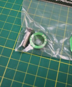 Green - Radiator Stay EPMAN Honda Civic EG EK AP Bracket bolt washer time attack