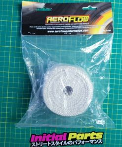 Aeroflow Exhaust Insulation Wrap 1 Inch Wide, 15ft Length White (AF91-3002)