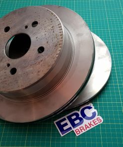 ULTIMAX Rear - Toyota Supra MK3 JZA70 MA70 kit Brakes Discs EBC PADS drift race