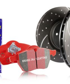 RED STUFF Rear - Toyota Supra MK4 JZA80 A80 kit Brakes GD Discs EBC PADS Grooved