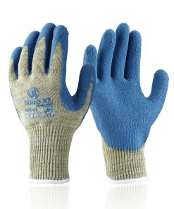 SUMO X5 - Fully Coated Latex Palm Coated Cut Resistant Glove knife glass sharp