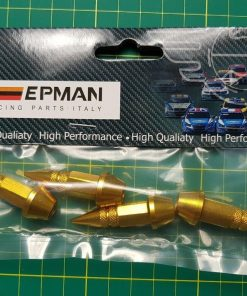 EPMAN GOLD Car Valve Tyre Caps Dust spike metal drift jdm ep3 dc3 type s13 s15